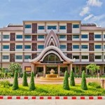 Imposante Hotelanlage